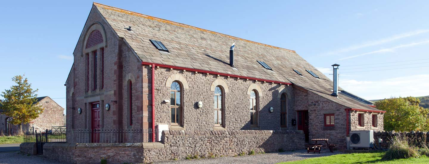 A former chapel now available for holiday lets