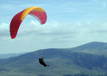 Photo: paragliding